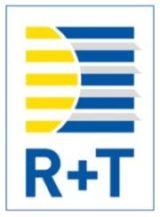 Logo du salon R+T de Stuttgart