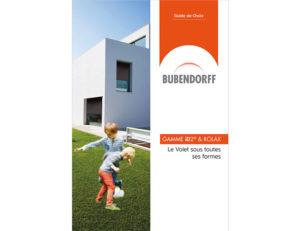 Page de couverture du guide de choix iD2 et Rolax de Bubendorff (2018)