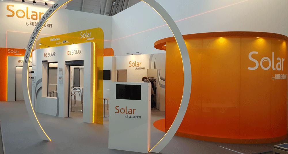 Stand Solar by Bubendorff au salon R+T à Stuttgart