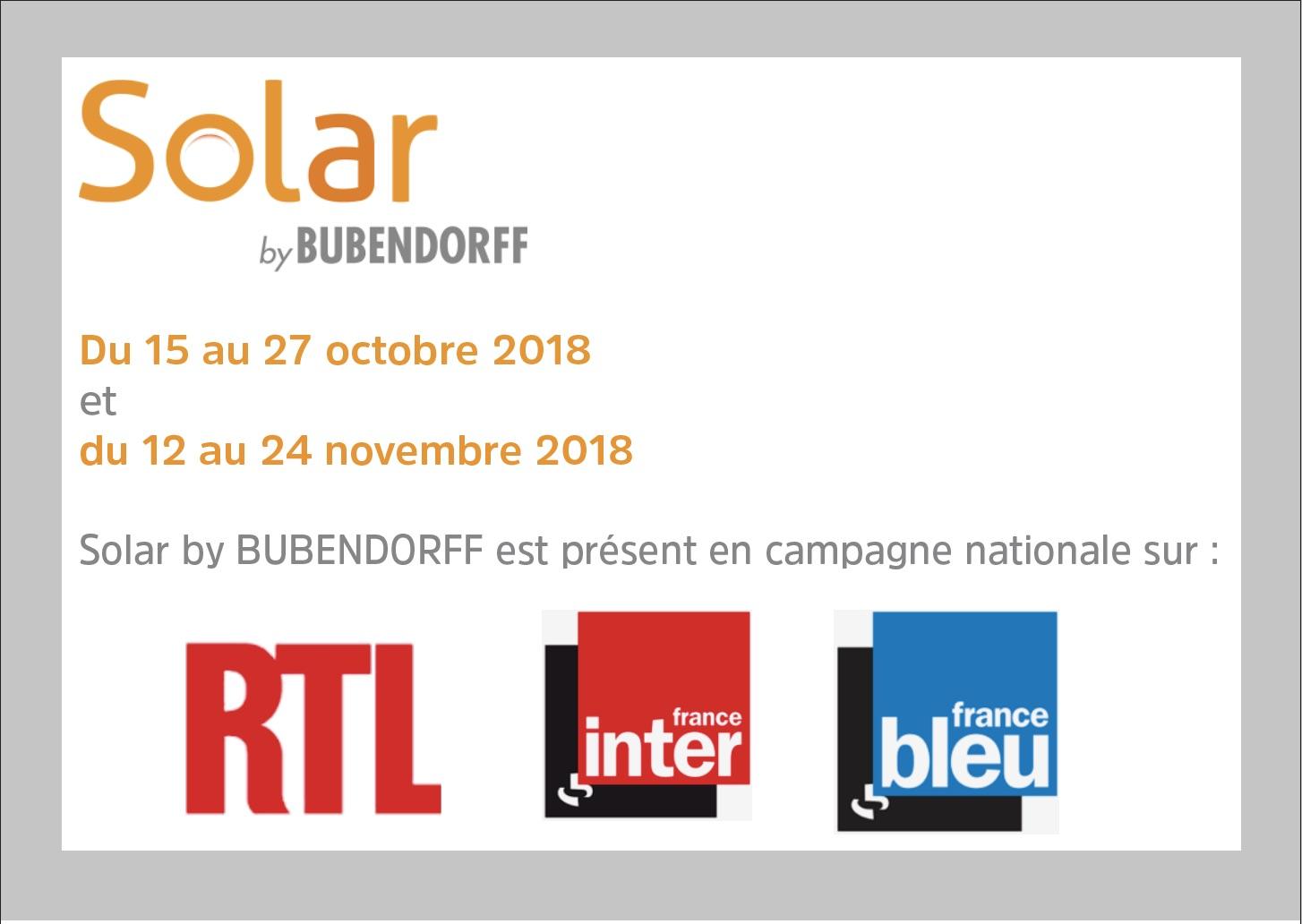Les volets roulants et la motorisation de volets battants Solar by  BUBENDORFF arrivent sur les ondes radio avec un ambassadeur de marque,  Stéphane Thébaut, ... f5a4b32bb120